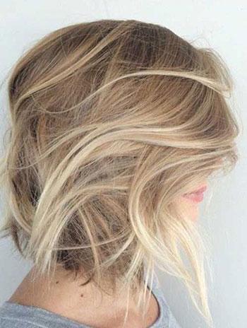 رنگ مو بلوند ماسهای