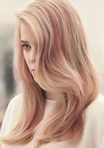 رنگ مو صورتی کوارتز