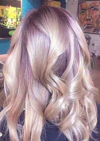 تکنیک رنگ آمیزی مو