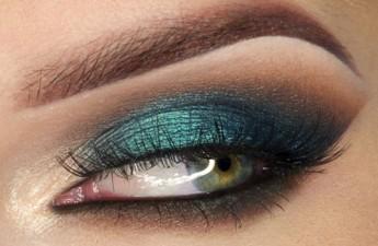 آموزش آرایش چشم – مدل پری دریایی