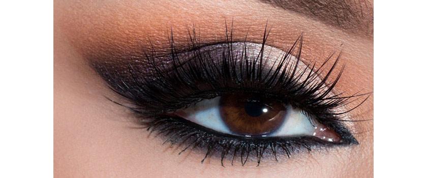 آرایش چشم – مدل دودی متالیک