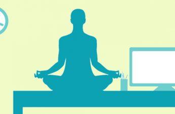 اینفوگرافیک: راهنمای حرکات یوگا در محل کار
