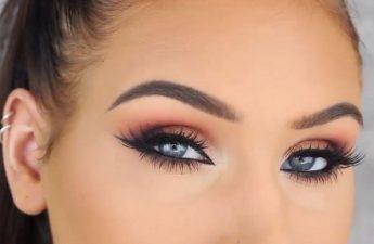 آموزش آرایش چشم پاییزی
