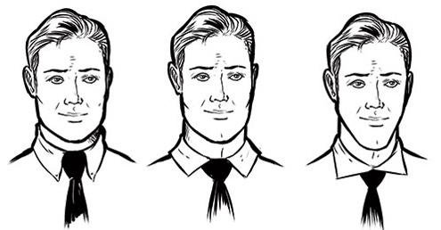 نوع یقه پیراهن را متناسب با چهره خود انتخاب کنید