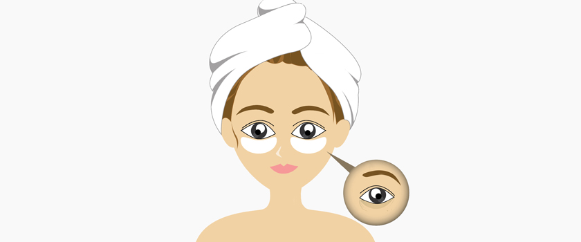 اینفوگرافیک:۱۰ روش طبیعی برای رفع سیاهی زیر چشم