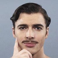 Pencil-Thin Moustache