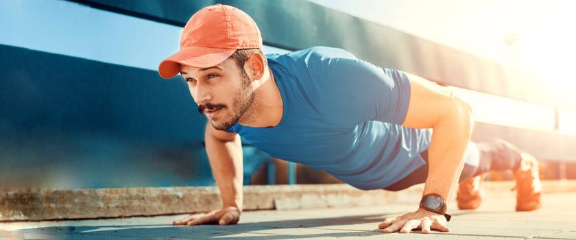 ۳۰ دقیقه ورزش با کمک گرفتن از وزن بدن