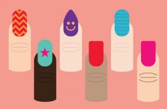 اینفوگرافیک: چگونه بهترین شکل ناخن را برای خود انتخاب کنید؟