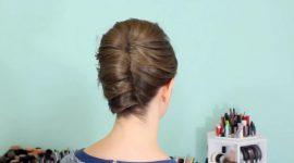 پیچ و تاب فرانسوی برای موهای کوتاه