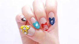 طراحی ناخن به سبک شبکههای اجتماعی