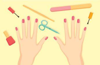 اینفوگرافیک: دستهای زیبا در 5 مرحله