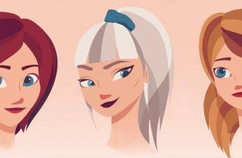 اینفوگرافیک: کدام مدل چتری مناسب فرم صورت شما است؟
