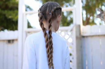 مدل بافت موی عروسکی در ۵ دقیقه