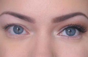 آرایش دودی مخصوص چشمهای پفدار