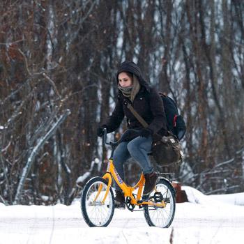 دوچرخه سواری بانوان روس برای حفظ تناسب اندام