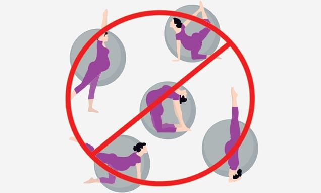ورزشهای خطرساز در دوران بارداری