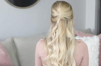آموزش دو مدل مو برای مهمانیهای پاییزی