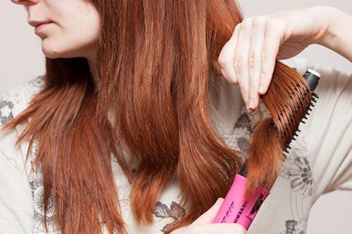 کاربرد سشوارهای برسدار برای موهای ضخیم