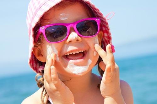 ضد آفتاب مخصوص کودکان