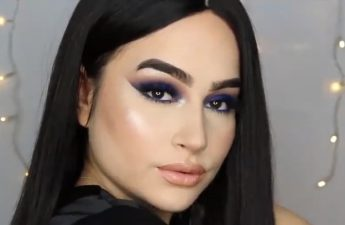 آموزش آرایش صورت با سایهی دودی
