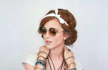 آموزش یک مدل موی ساده با دستمال سر