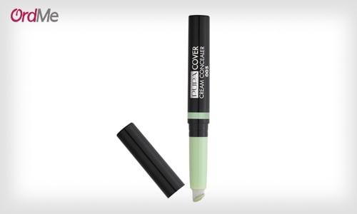 کانسیلر رنگی با طیف سبز