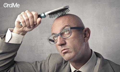 دلیل اصلی ریزش مو: الگوی طاسی مردانه