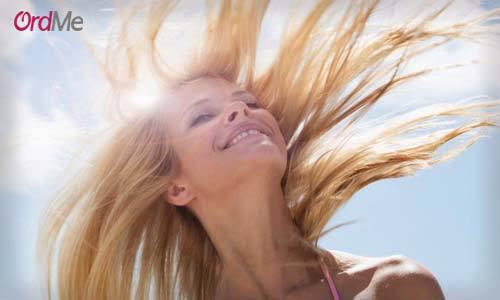 دوری از نور خورشید برای مراقبت از موی سر