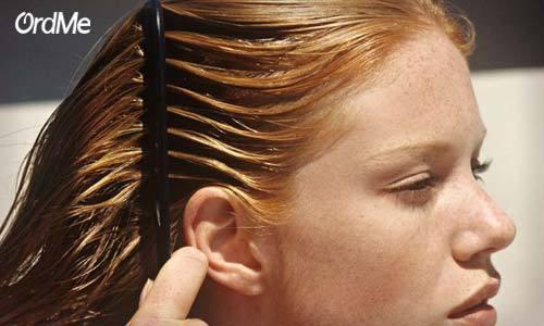 رعایت اصول شانه کردن مو یکی از روش های مراقبت از موی سر