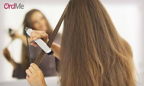 پرهیز از سشوار و اتوی مو روش های مراقبت از موی سر