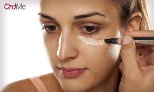 پوشش تیرگی زیر چشم