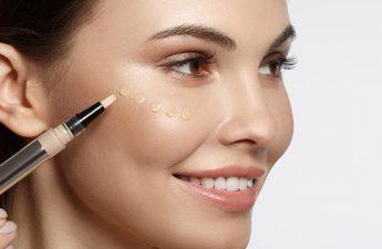 استفاده از انواع کانسیلر برای زیرسازی آرایش صورت