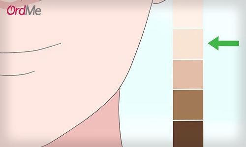 روش های تعیین تن رنگ پوست