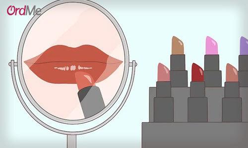 راهنمای خرید رژ لب مناسب رنگ پوست
