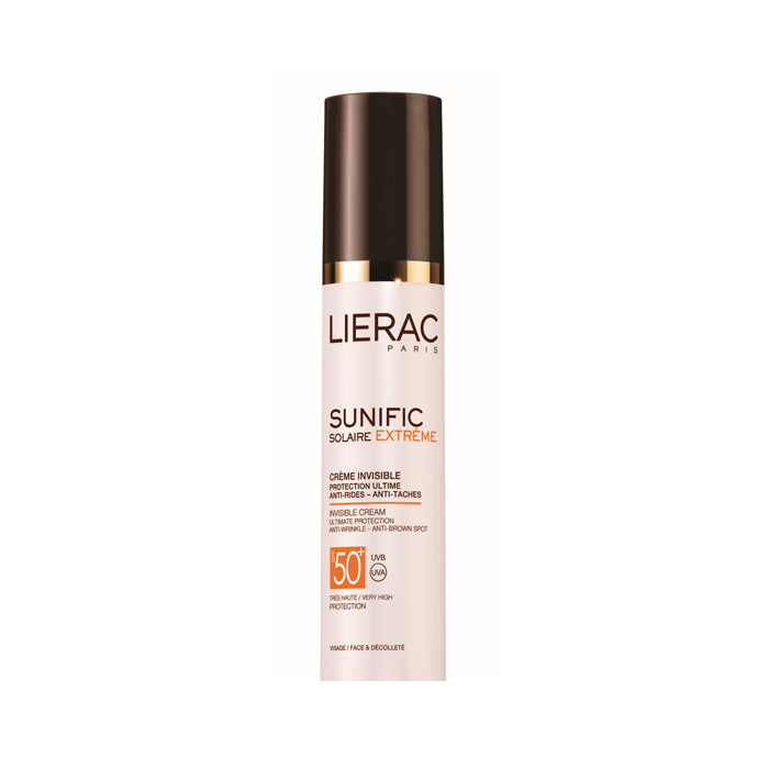 کرم ضد آفتاب سانی فیک بی رنگ +LIERAC SPF 50