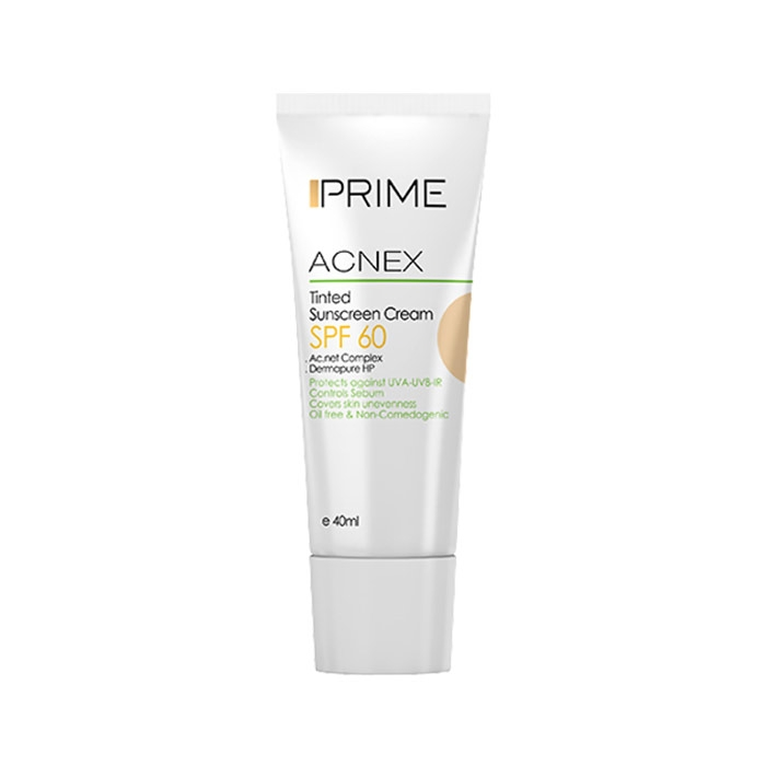 کرم ضد آفتاب رنگی Prime SPF 60
