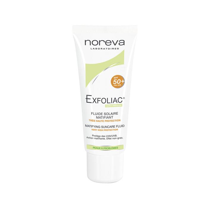 فلوئید ضد آفتاب + noreva Exfoliac SPF 50