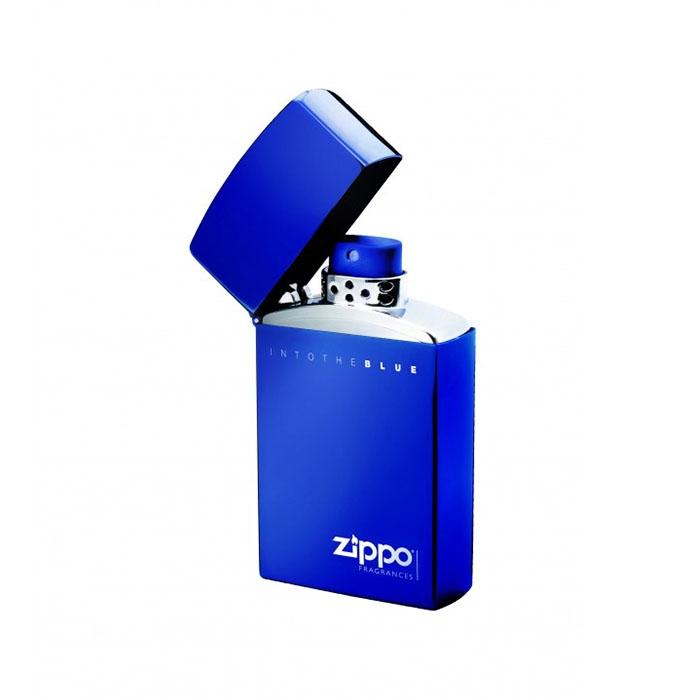 ادو تویلت اینتو د بلو zippo