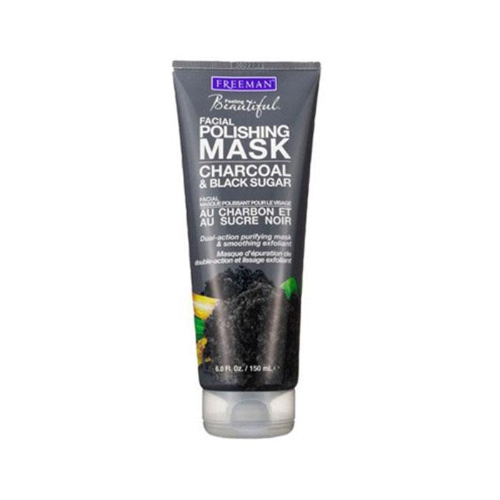 ماسک صورت زغال و شکر سیاه Freeman