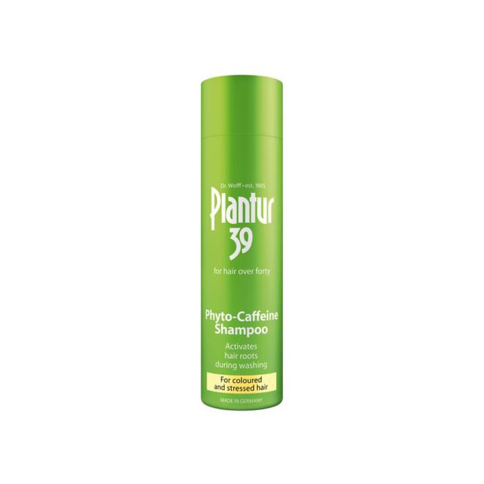 شامپو موهای رنگ شده و شکننده Plantur 39