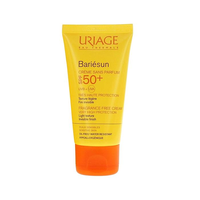 کرم ضد آفتاب فاقد چربی و بی رنگ بری سان +Uriage SPF 50