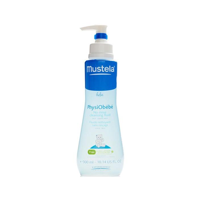 لوسیون پاک کننده بدون صابون فیزیو ب ب MUSTELA