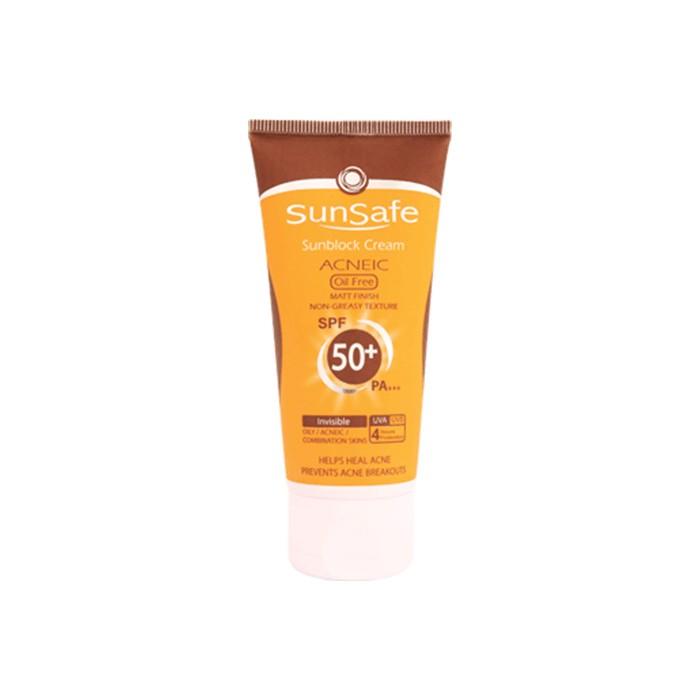 كرم ضد آفتاب آنتی آكنه + SunSafe SPF 50