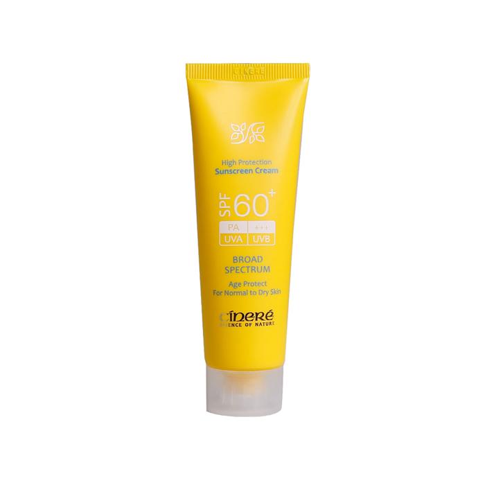 کرم ضد آفتاب Cinere SPF 60