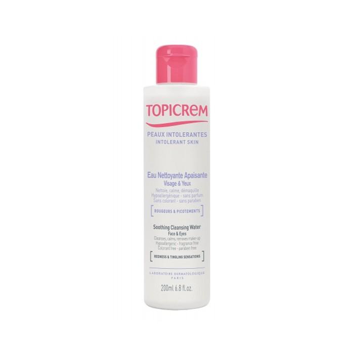 محلول پاک کننده صورت و چشم TOPICREM