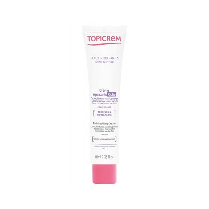 تسکین دهنده مغذی پوست حساس و خشک TOPICREM