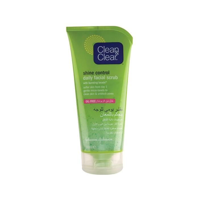 اسکراب روزانه کنترل کننده چربی پوست Clean And Clear