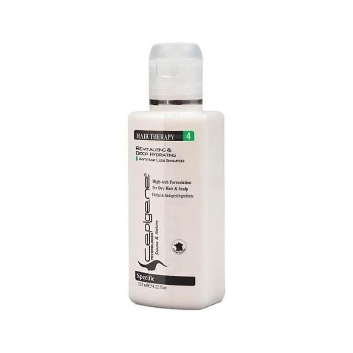 شامپو نوول ضد ریزش و تقویتی موی خشک Cepigene