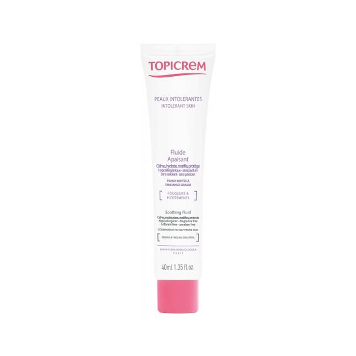 فلوئید تسکین دهنده پوست حساس و چرب TOPICREM