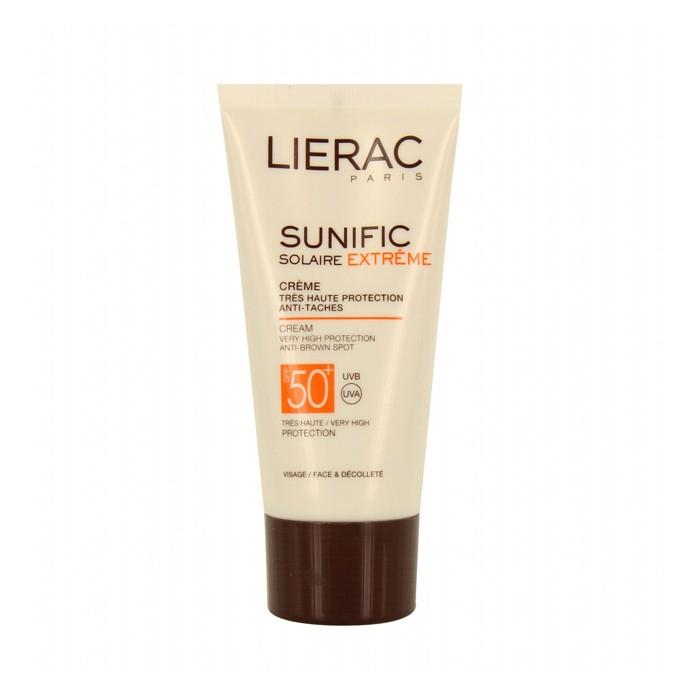کرم ضد آفتاب سانی فیک +LIERAC SPF 50